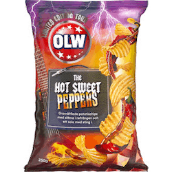 OLW Hot sweet peppers 250g