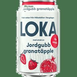 Loka Jordgubb/Granatäpple 33cl