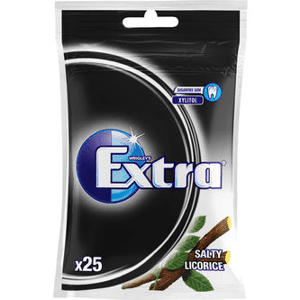 Extra Salty Licorice Påse 35 g