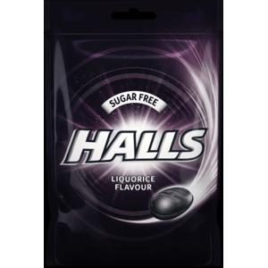 Halls Liquorice 65 g