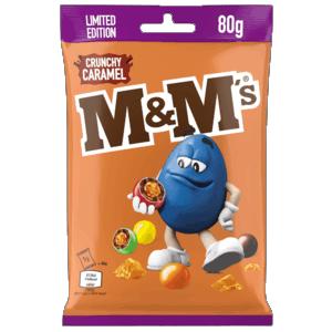 M&M Crunchy Caramel 80g