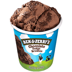 Ben & Jerry Chocolate fudge