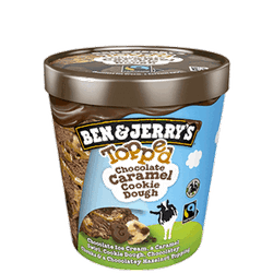 Ben & Jerry Topped chocklate c