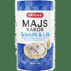 Friggs Majskaka gräddfil&lök