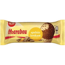 GB Marabou Apelsin Krokant