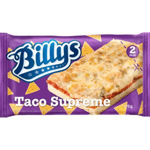 Billys pan pizza taco