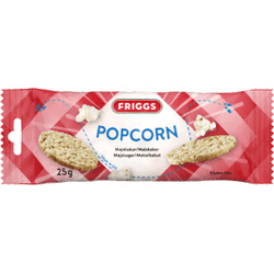 Friggs Snackpack Popcorn 25g