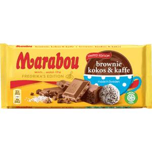 Marabou Brownie,kokos&kaffe