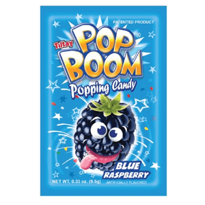 Pop Boom blue rasberry