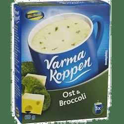 Varma koppen ost & broccoli