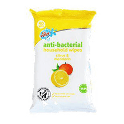 Våtservett Antibakteriell Citr