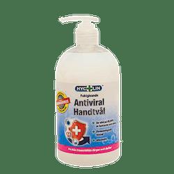 Antiviral handtvål