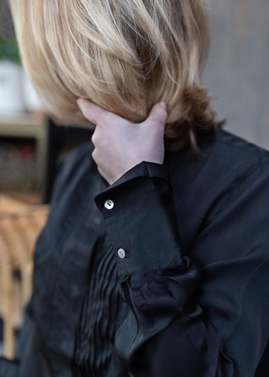Tuxa Blouse Charcoal