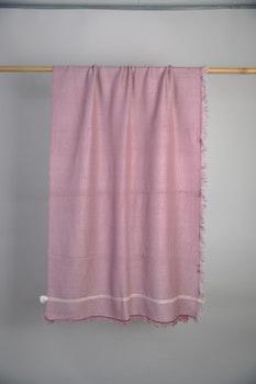 Wrap Pink Yak Wool