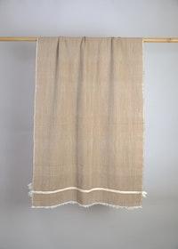 Wrap Beige Yak Wool