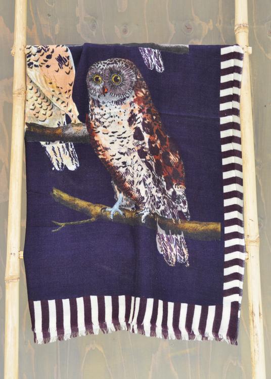 Wool Wrap Owl