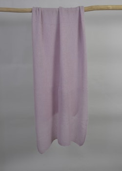 Knitted handcrafted Cashmere wrap Pink