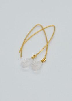 Mossa Hanging Earring Moonstone