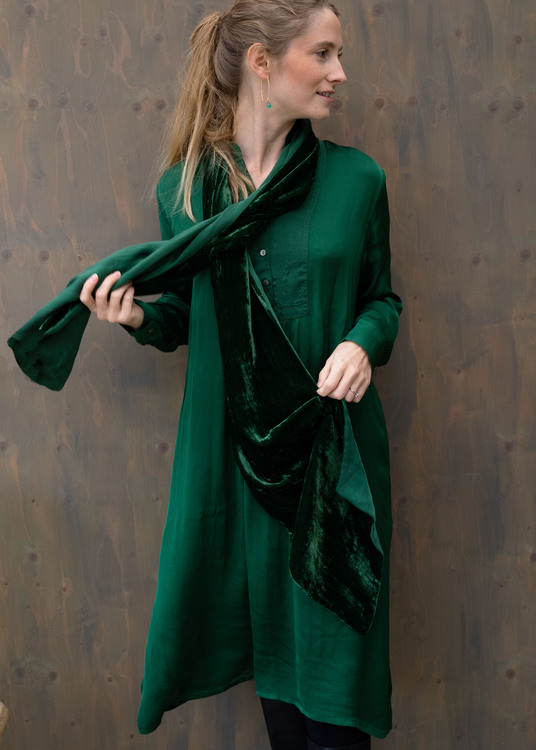 Anna Dress Green OF