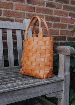 Ini Braided Bag Tan