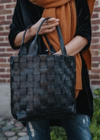Ini Braided Bag Black