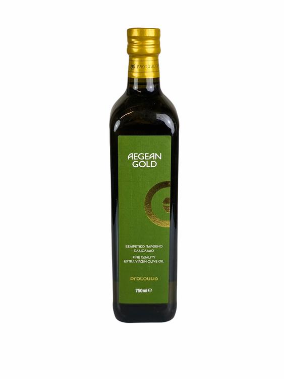 Olivolja Agean Gold kallpressad 750ml