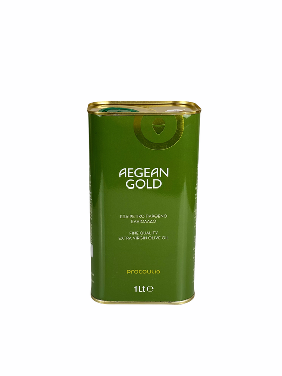 Olivolja Agean Gold kallpressad 1liter
