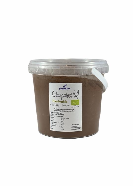 Kakaopulver rå Ekologiskt 400g