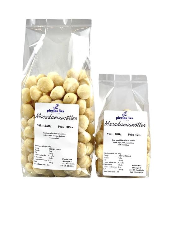 Makadamianötter