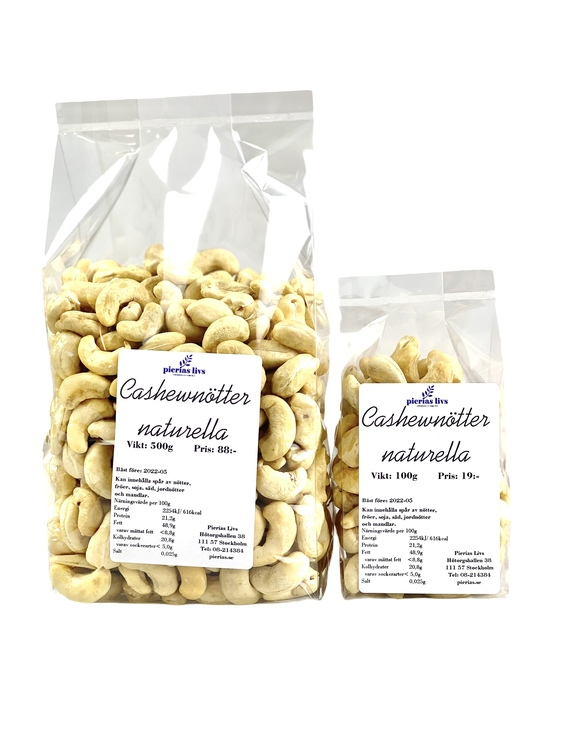 Cashewnötter naturella
