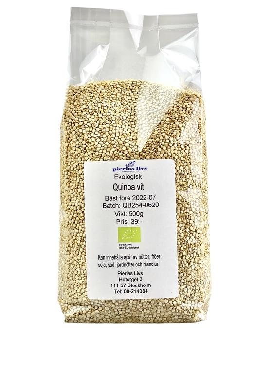 Quinoa vit Ekologisk 500g