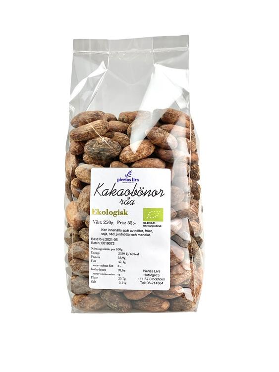 Kakaobönor Ekologiska 250g
