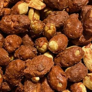 Brända jordnötter 250g