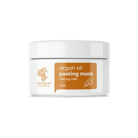 Facial Argan Peeling Mask CBD 50ml
