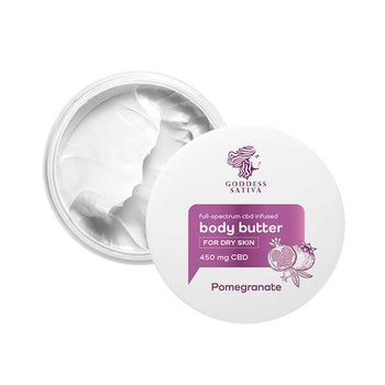 Body Butter för Torr Hud Pomegranate 450 mg