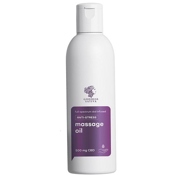 Massage Oil Anti-stress CBD 200ml