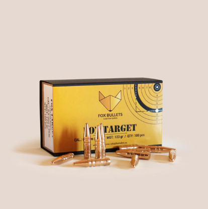 Fox Target 9,3 mm (.366) 220 gr  - 1st ask 50st kulor