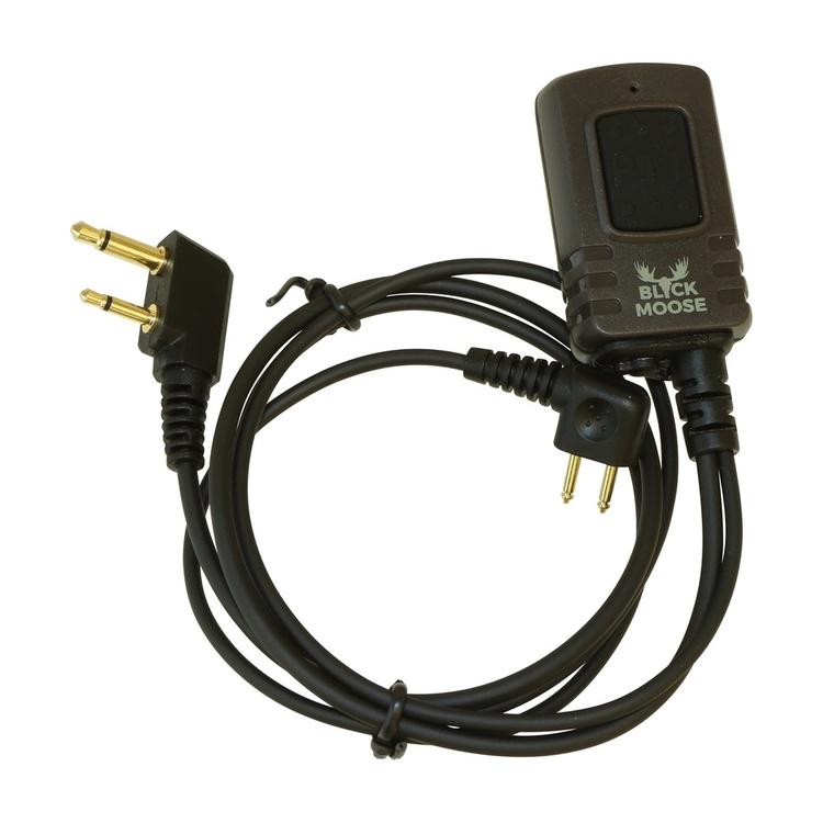 Miniheadset Black Moose för Peltor hörselskydd