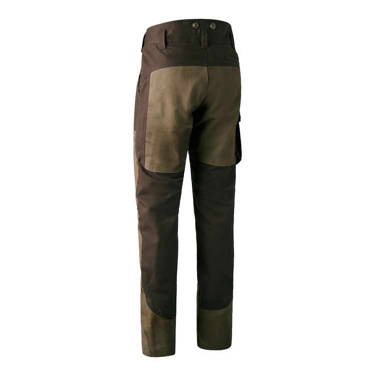 Marseille Leather Mix Trousers
