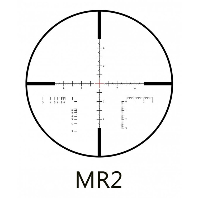 MINOX ZP5 TAC 3-15X50 MIL/MIL FFP MR2 BELYST