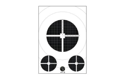 Inskjutningstavla A3 - Pris inkl frakt