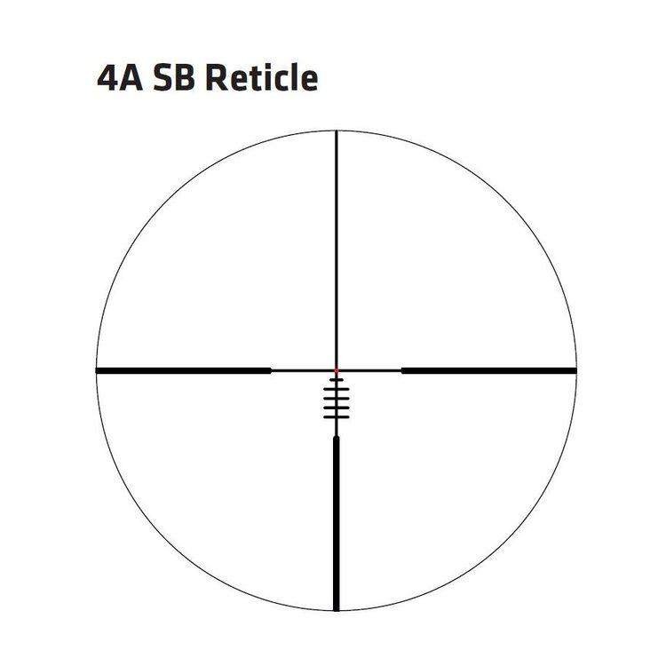 DELTA OPTICAL DELTA TITANIUM HD 4-24X50 SF BELYST