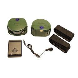 Jakt & Vildmark - Trådlöst åtellarm med dubbla sensorer och vibration