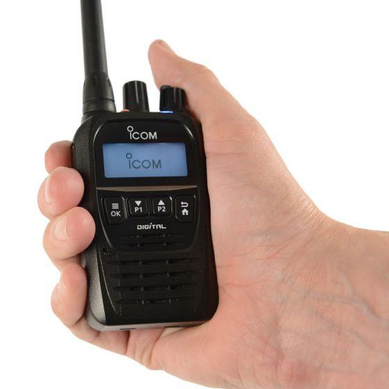 Jaktradio - ICOM ProHunt D52 Digital/Analog jaktradio med Bluetooth
