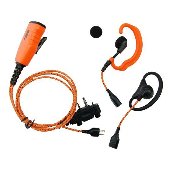 Jaktradio - ICOM ProHunt Basic 2 Paket Orange + Headset + Lång antenn
