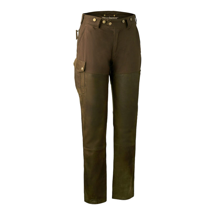 Lady Paris Leather Trousers