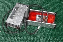Komplett belysning 13 eller 7-polig inkl Lyktskydd