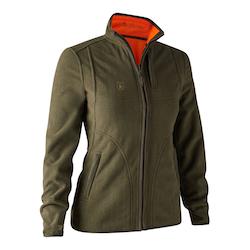 Deerhunter - Lady Pam Bonded Fleece Jacket - vändbar