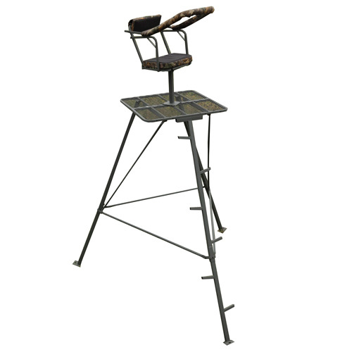 Smidigt Jakttorn med roterbar stol inkl frakt
