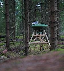 Nordic Gamekeeper - Komplett 250 liters foderautomat med FeedCon (inkl frakt)